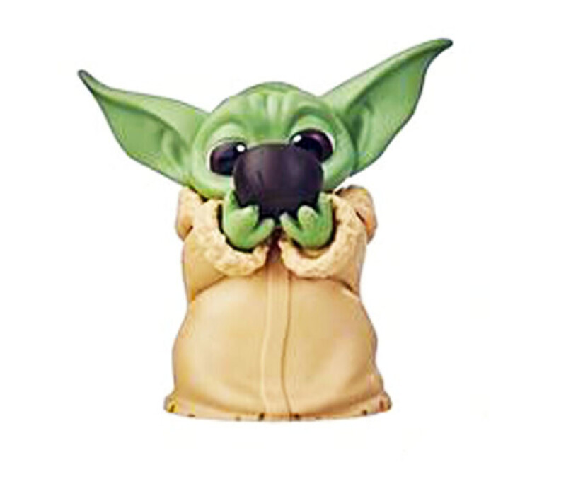 Star Wars Mandalorian Soup Sipping Baby Yoda The Child Bounty Collection NIB