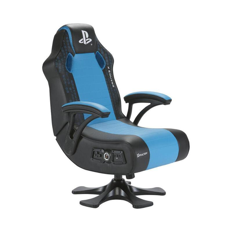 Strange Details About X Rocker Officially Licensed Playstation Legend 2 1 Pedestal Gaming Chair Machost Co Dining Chair Design Ideas Machostcouk