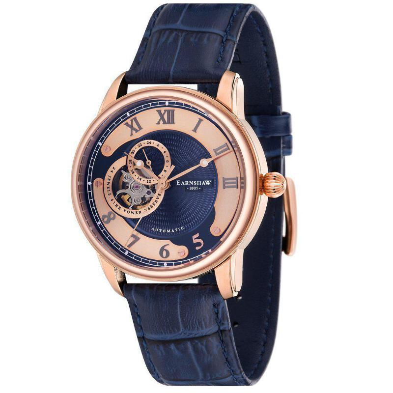 7538a9ab Details about Earnshaw Longitude Automatic Men's Watch - ES-8803-04