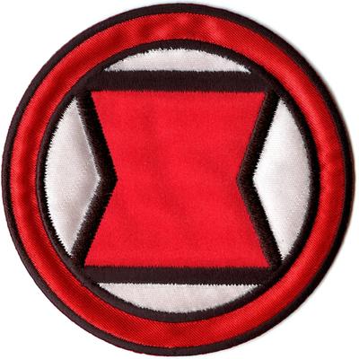 Marvel Avengers Black Widow Logo Iron On Applique Patch Ebay