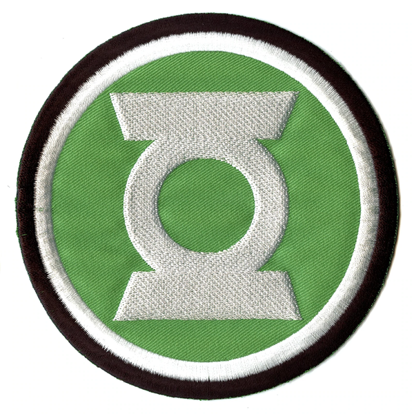 DC Comics The Green Lantern Embroidered Iron On Applique Patch