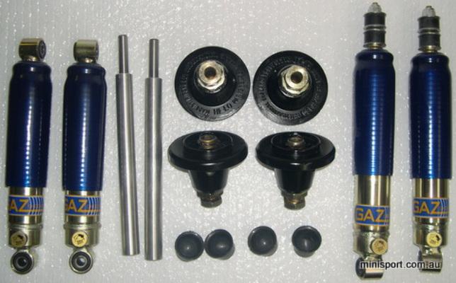 gaz adjustable suspension package 4 gaz shocks set of ripspeed hilos 4 cups. Black Bedroom Furniture Sets. Home Design Ideas