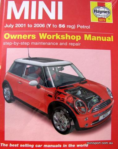 bmw mini repair and maintenance manual 2001 2006 rh minisport com au BMW 528I Repair Manual BMW Auto Repair Manuals