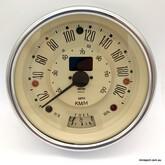 MINI & MOKE 200KPH SMITH SPEEDO- MAGNOLIA- ELECTRONIC/PROGRAMMABLE -  13H4445MG
