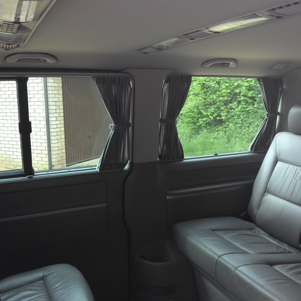 VW T5 Window Curtains Eco-Line 2 x Side Curtain Kits