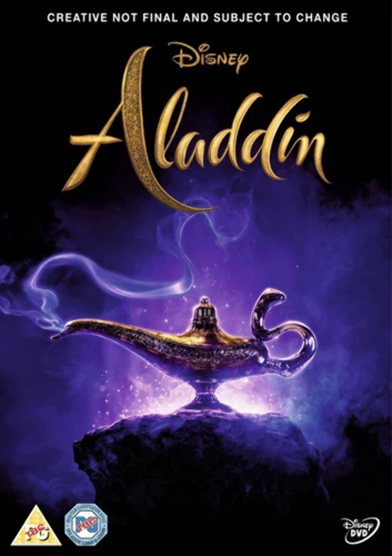 Details About Aladdin 2019 Guy Ritchie Dvd