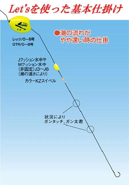 Kizakura KAI-TEKI ISO Fishing Float