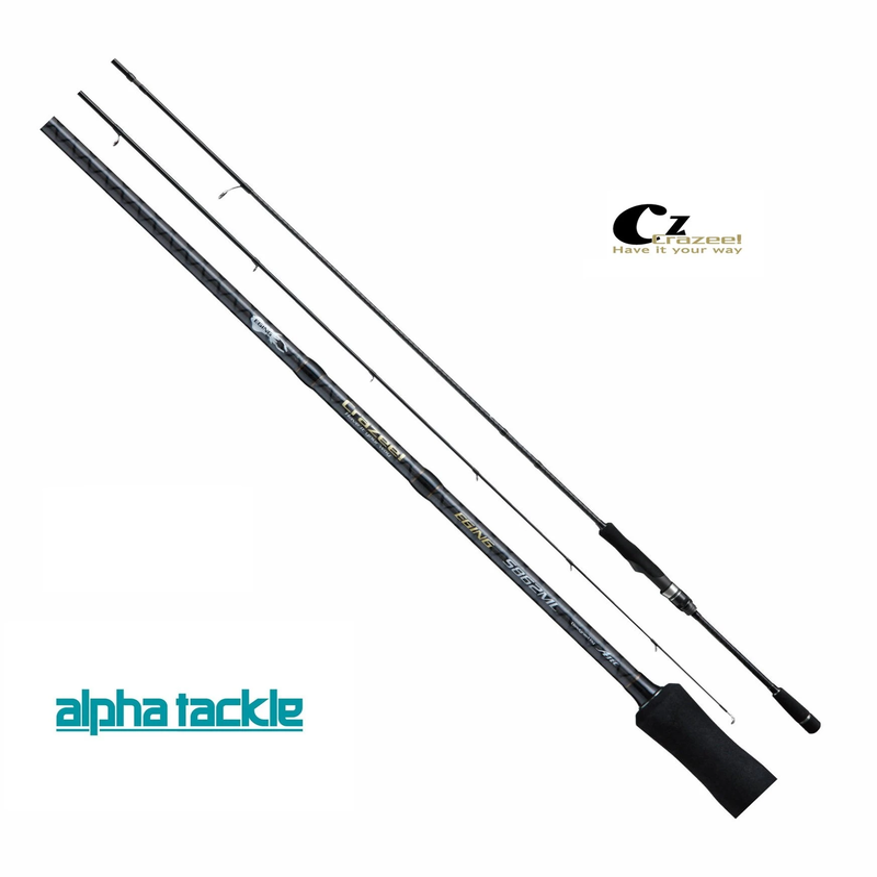 Details about Alpha Tackle Eging Rod Crazee Aori Stick