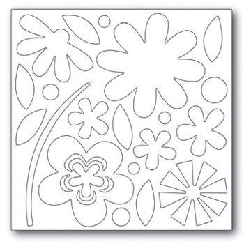 Blossoms Chipboard Chips