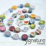 Fimo Coin Bead Necklace Kit
