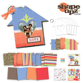 Shape Upz - Home Album Kit