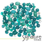 Lagoon Signature Glass Bead Mix