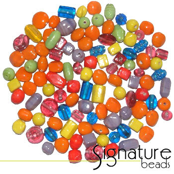 Harlequin Signature Glass Bead Mix