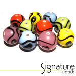 Funky Multi-coloured Rounds - Packet of 10
