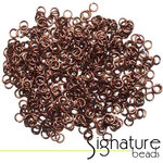 Antique Copper 4mm Jump rings  Pkt (500)