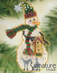 Mill Hill Glass Snow Charmer Bead Kit Birdhouse Snow Charmer