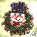 Mill Hill Glass Holiday Pin Bead Kit Peek-A-Brrr