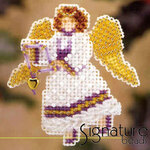 Mill Hill Glass Holiday Pin Bead Kit Snow Angel