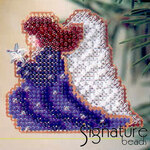 Mill Hill Glass Holiday Pin Bead Kit Starlight Angel