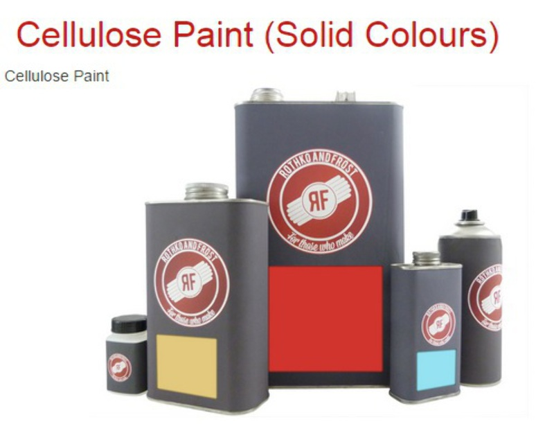 Details about New Guitar Parts Rothko & Frost Nitro Lacquer (Coloured)  Aerosols - solid colour