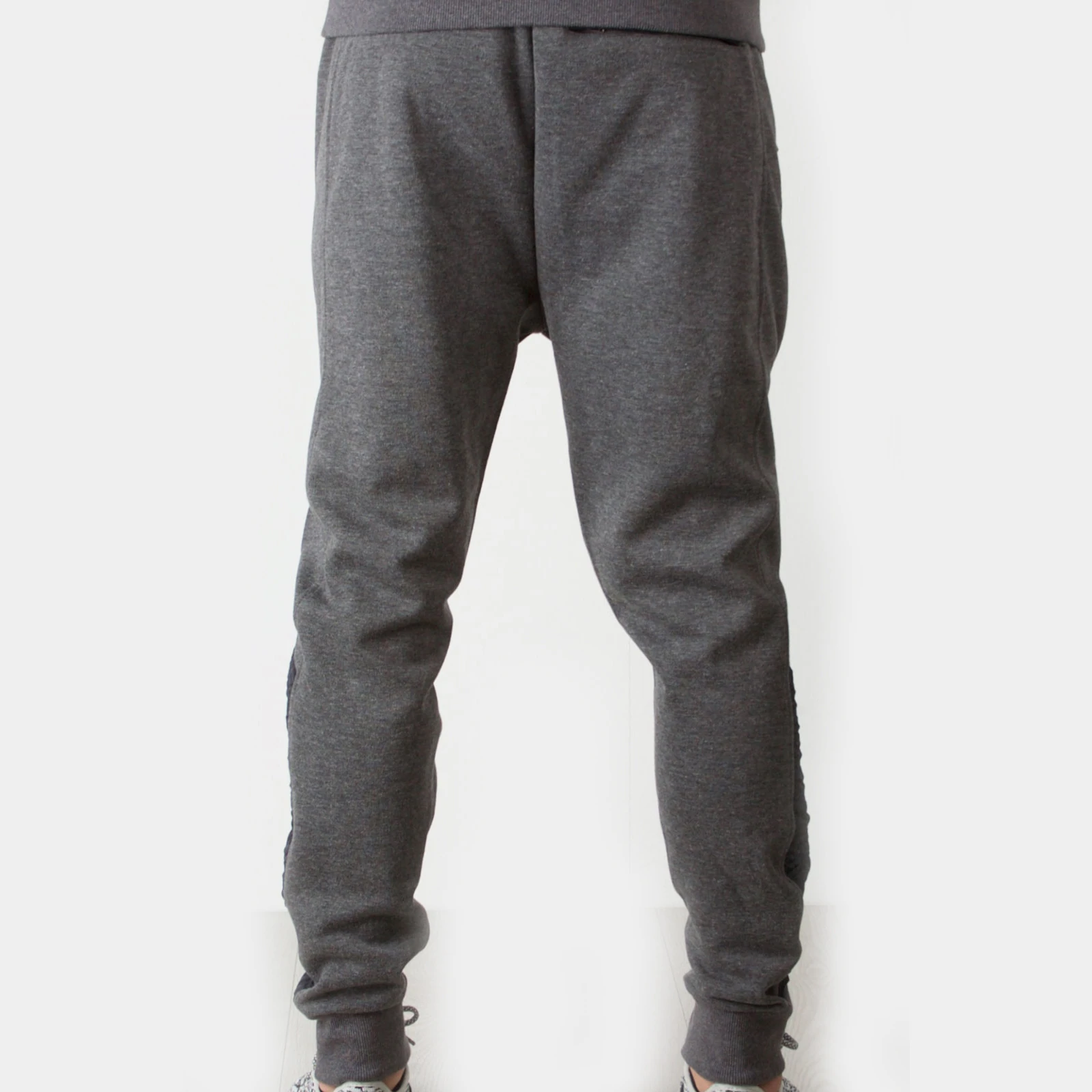 Foray Dynamic Joggers Track Pants Charcoal Marl Large