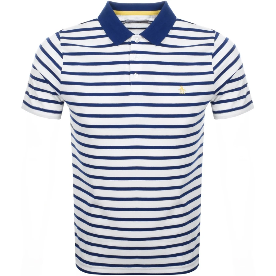 Navy Pick Size Tommy Hilfiger Men's Classic Short Sleeve Polo Shirt Blue Stripe