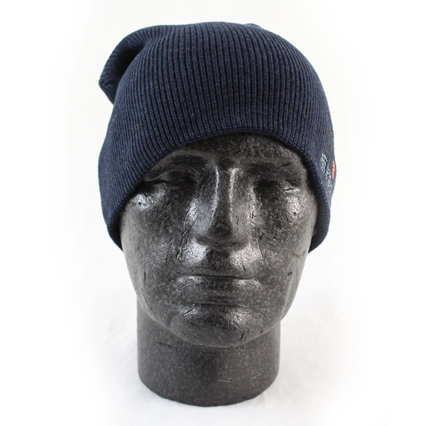 487c9d2c6 Details about Superdry Windhiker Embroidery Beanie Hat Eclipse Navy Black
