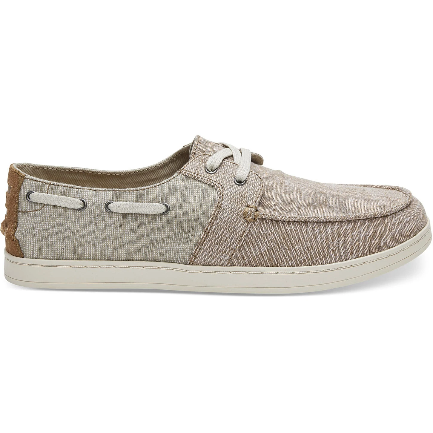 TOMS Mens Culver Toffee Chambray Mix