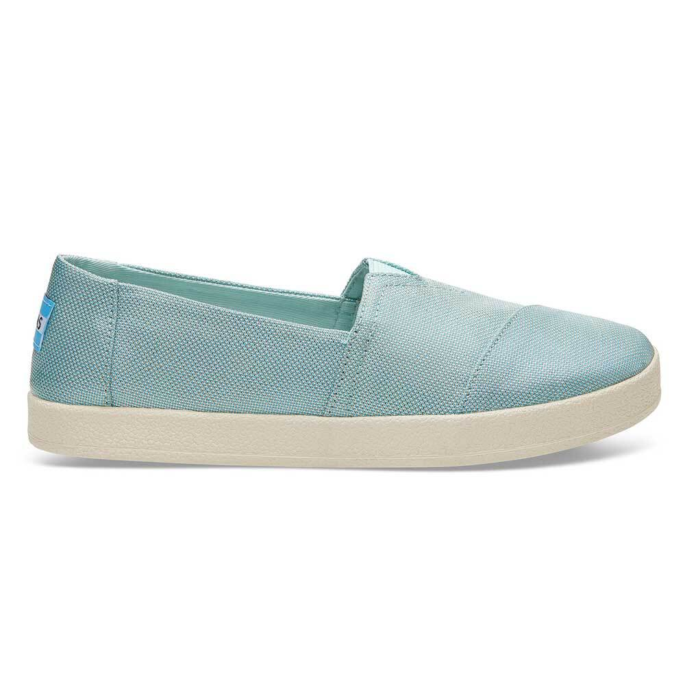 TOMS Pastel Turquoise Shiny Woven Women