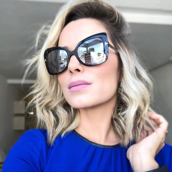80cc84df71 Luxury Cat eye sunglasses Women men 2018 Sexy shades Brand Big frame square  sun glasses designer Fashion Oculos de sol 95124