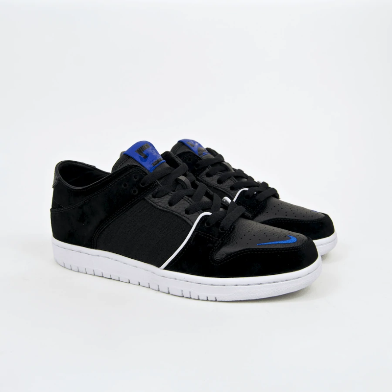 cheap for discount ff1bc f4b0a Details about Nike SB - Dunk Low Pro QS (Decon x Soulland) Shoes - Black /  Game Royal-White
