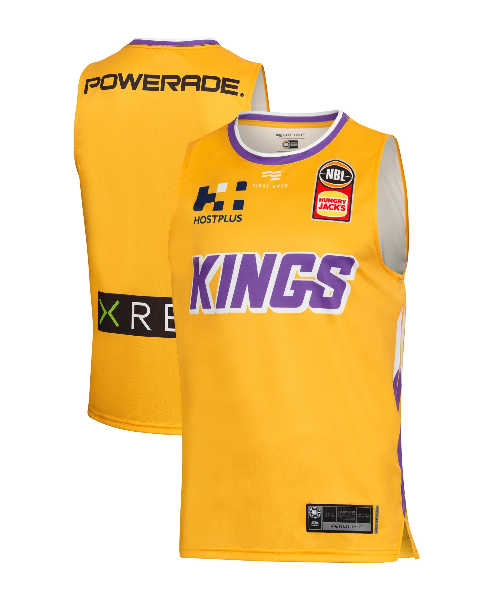 Sydney Kings 19//20 Official NBL Reversible Training Jersey