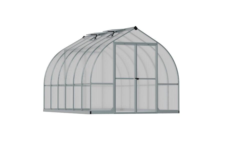 Details about Maze Premium Polycarbonate Walk-in Greenhouse 8' x 12' Bella  - Strong Aluminium
