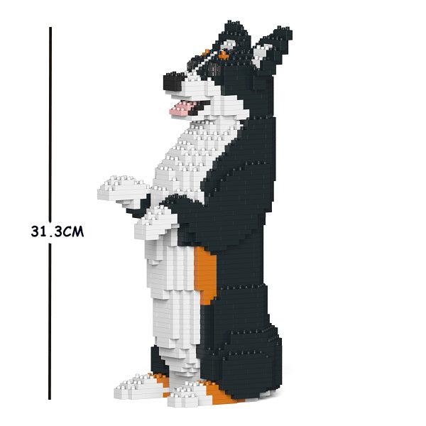 JEKCA Animal Building Blocks Kit for Kidults Bernese Mountain Dog 05S