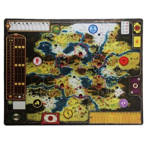 "Inked Playmats Scythe Board Game Mat 36/"" X 28/"" FREE SHIPPING Toys /& Games"