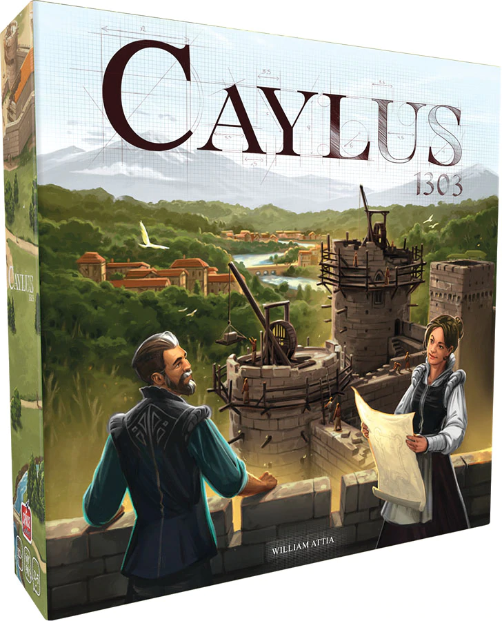 Board Game 2nd Edition Caylus 1303