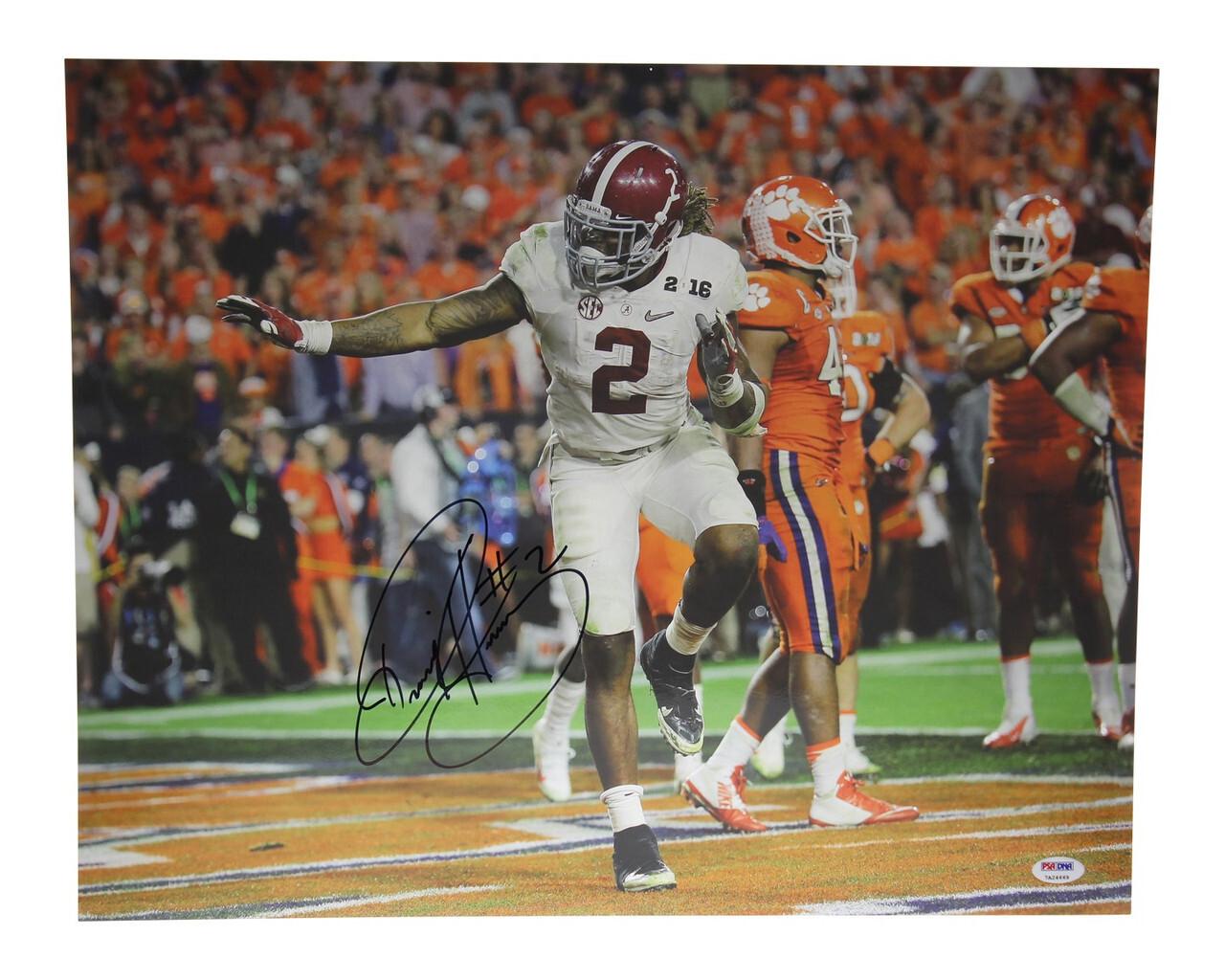 Derrick Henry Autographed Alabama Crimson Tide Full Size Helmet PSA//DNA ITP
