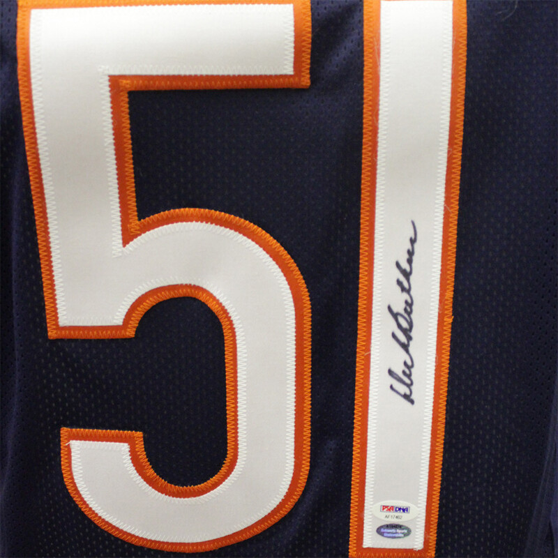 on sale 1adae 95771 Details about Dick Butkus Autographed Throwback Chicago Bears Jersey -  PSA/DNA