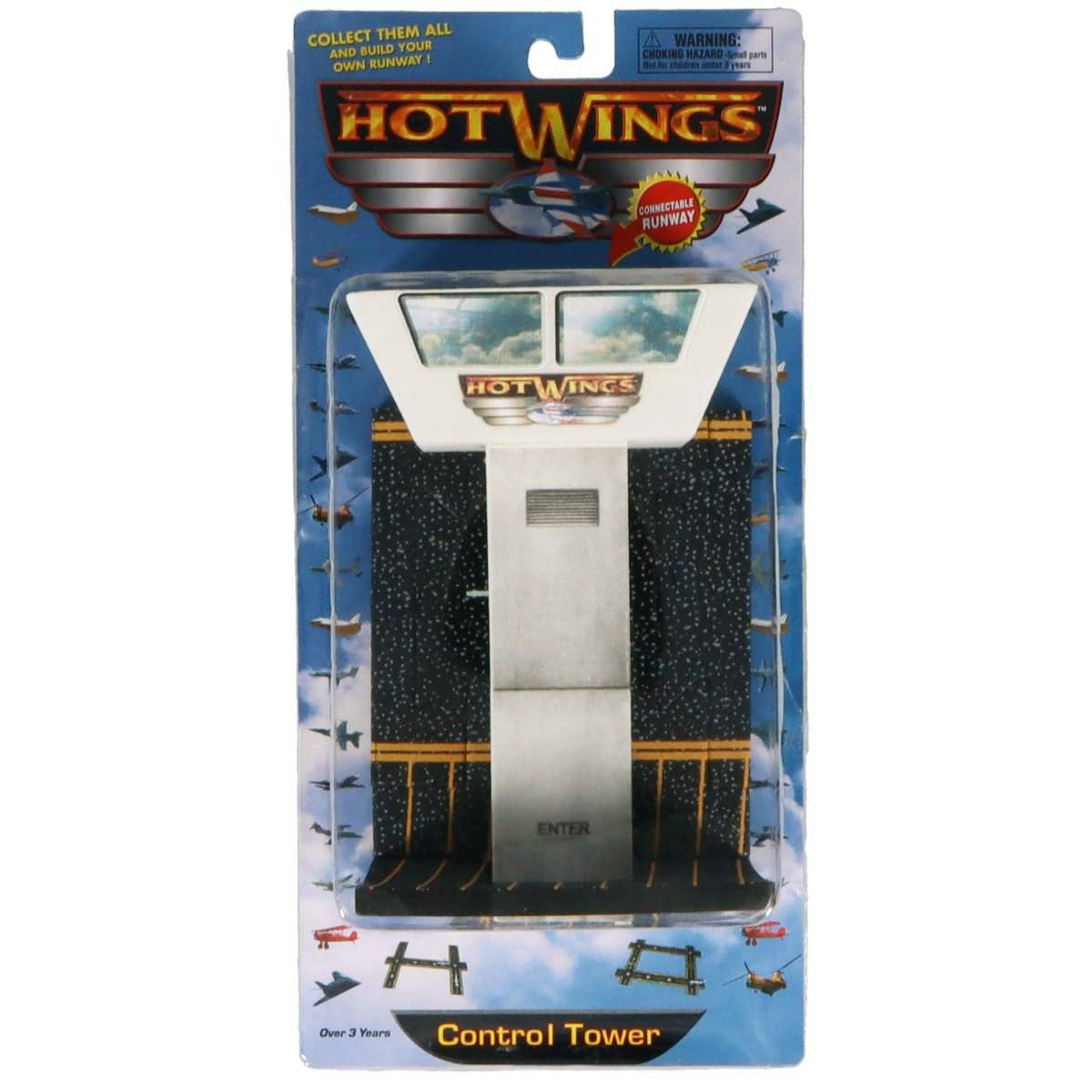 Hot Wings Control Tower with Connectible Runway