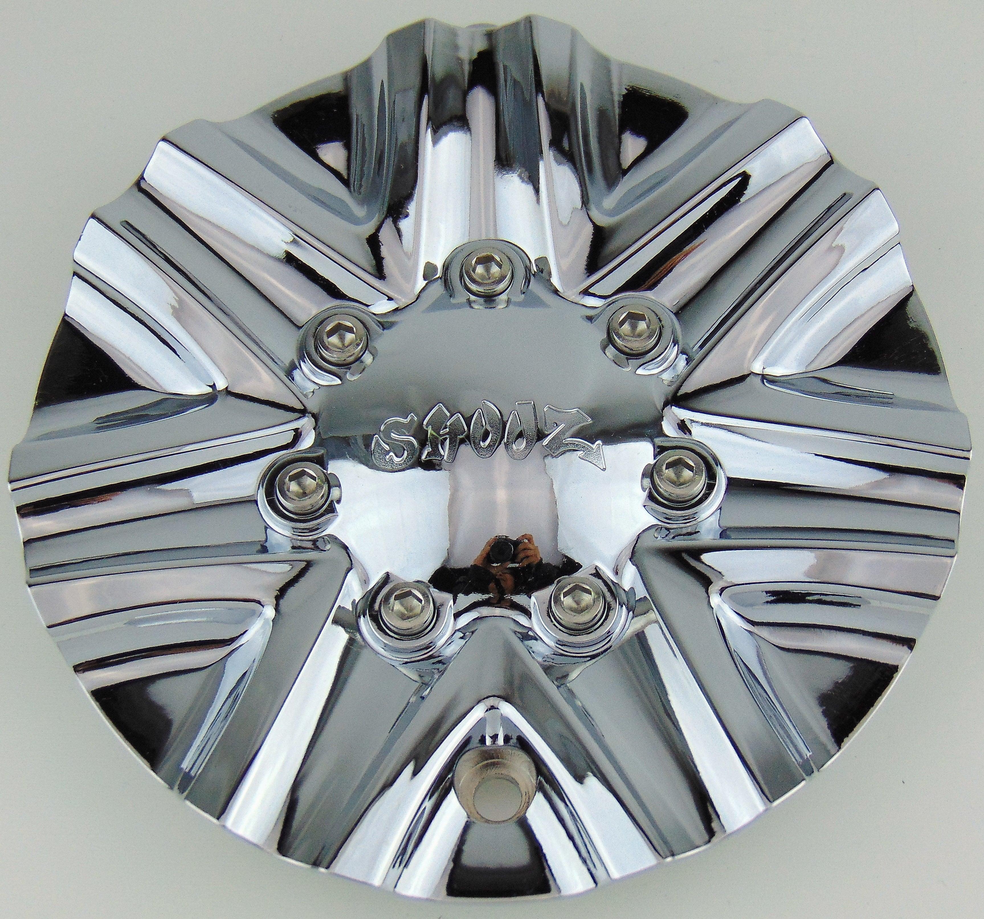 "Rox Wheels Rim Center Cap TC-030 Chrome 6 1//4/"" New"