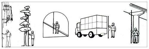 Senshin measuring pole
