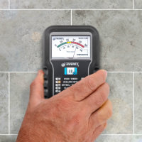 Tramex Moisture Encounter ME5 on Concrete