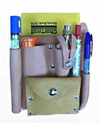 Surveyor leather field bag