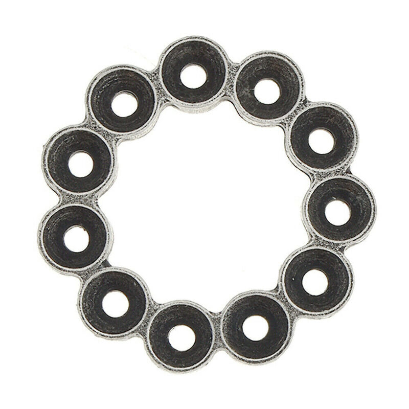 Details about 3 PCS Pack -32pp Metal casting hollow circle | Jewelry Making  Supplies | Gita Je