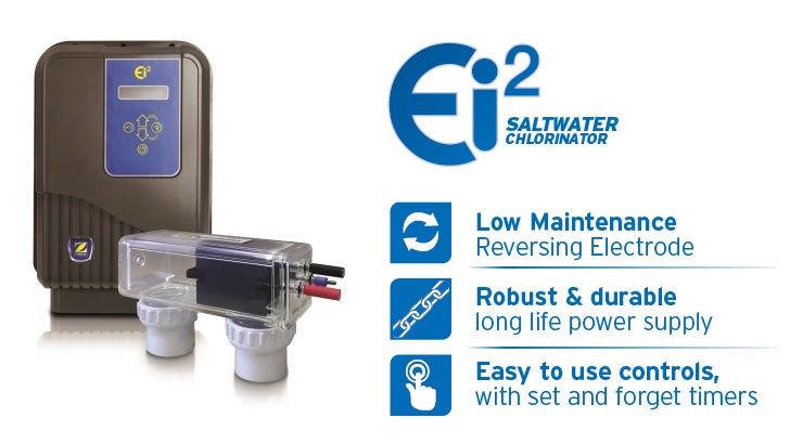 Zodiac Ei2 salt chlorinator