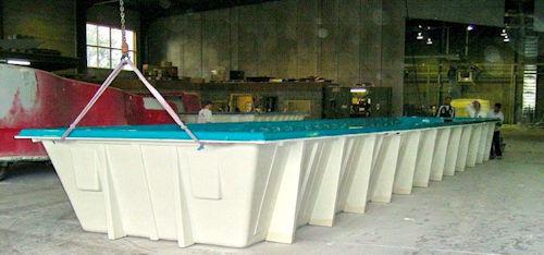 Fibreglass Above Ground pool factory