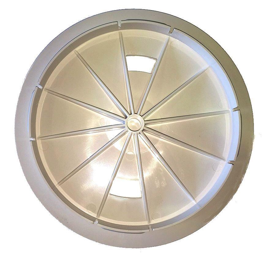 Filtrite deck lid under