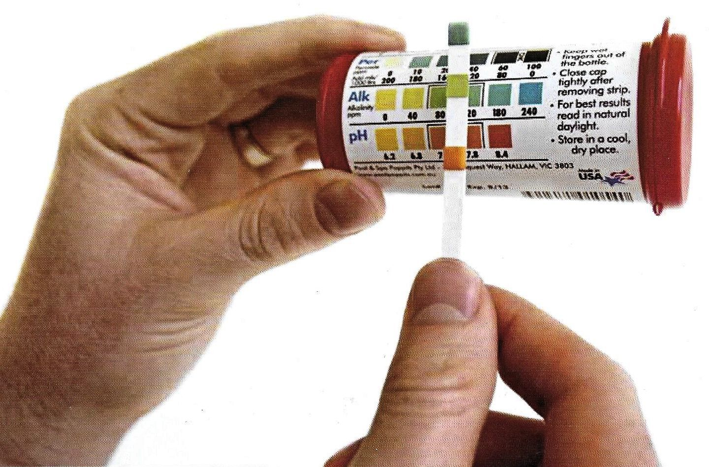 Peroxsil test strips