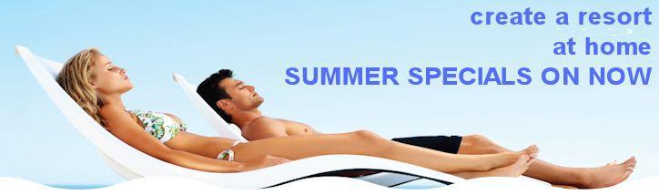 Summer pool specials