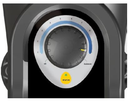 Davey VSD400 dials